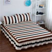 Bed skirt 150cmx200cm [single bed skirt], 120cmx200cm [single bed skirt], 200cmx220cm [single bed skirt], 180cmx220cm [single bed skirt], 180cmx200cm [single bed skirt], 100cmx200cm [single bed skirt] polyester fiber Other / other Plants and flowers Qualified products tb-584433980927