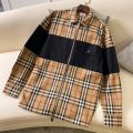 Jacket Other / other Youth fashion khaki S,M,L,XL,2XL routine standard Other leisure spring Long sleeves Wear out Lapel tide youth routine Zipper placket 2021 Straight hem No iron treatment Closing sleeve lattice Plaid Splicing cotton More than 95%