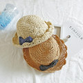 Hat Average size Light coffee Khaki off white 2-12 years old (Cap circumference 54cm) neutral Fisherman hat dome leisure time Other / other Big eaves other Summer of 2018