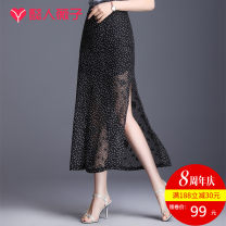 skirt Summer of 2019 19/S 20/M 21/L 22/XL 23/XXL 24/3XL 25/4XL Mid length dress commute Natural waist skirt Broken flowers Type A More than 95% other Wei Zi polyester fiber Korean version Polyester 100% Pure e-commerce (online only) 101g / m ^ 2 (including) - 120g / m ^ 2 (including)
