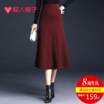skirt Autumn 2020 19/S 20/M 21/L 22/XL 23/XXL 24/3XL 25/4XL Red black dark grey longuette commute High waist A-line skirt lattice Type A 30-34 years old Y2007QZ5961 81% (inclusive) - 90% (inclusive) Wool Wei Zi polyester fiber Bright silk zipper Korean version Pure e-commerce (online only)