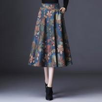 glove Wool / cashmere Color geometric flower L,XL,XXL 20C68#511