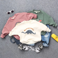 Sweater / sweater Other / other male The recommended height is about 90cm for size 5, 100cm for size 7, 110cm for size 9, 120cm for size 11 and 130cm for size 13 spring and autumn nothing Britain Socket routine No model cotton Cartoon animation Cotton 95% other 5% other