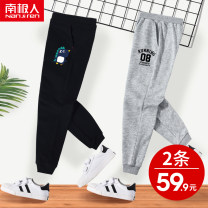 trousers NGGGN male spring and autumn trousers leisure time There are models in the real shooting Sports pants Leather belt middle-waisted cotton Don't open the crotch Cotton 83% polyester 17% LE1901220053 Class B LE1901220053 Spring 2021 Chinese Mainland Hubei province Wuhan City