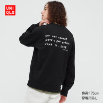 Sweater other UNIQLO / UNIQLO 09 black 160/76A/XS 165/84A/S 170/92A/M 175/100A/L 180/108B/XL 185/112C/XXL 185/120C/XXXL 185/128C/XXXXL other Socket spring UQ437283000 Cotton 100% Spring 2021 Same model in shopping mall (sold online and offline)