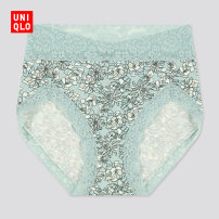 underpants female 11 pink 51 light green 155/85/S 160/90/M 165/95/L 170/100/XL 175/105/XXL 180/110/XXXL UNIQLO / UNIQLO 1 other High waist UQ430789000 Autumn 2020 Cotton 95% polyurethane elastic fiber (spandex) 5% Cotton 95% polyurethane elastic fiber (spandex) 5%