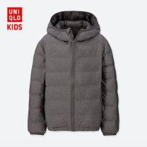 Plain coat UNIQLO / UNIQLO currency 110cm 120cm 130cm 140cm 150cm 160cm spring and autumn No detachable cap other Polyamide fiber (nylon) 100% Winter of 2019