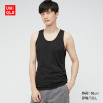 Sling / vest / T-shirt 160/85/XS 165/90/S 170/95/M 175/100/L 180/105/XL 185/110/XXL 185/115/XXXL 185/120/XXXXL 00 white 09 black 69 Navy male UNIQLO / UNIQLO UQ434168000 summer Cotton 71% polyester 25% polyurethane elastic fiber (spandex) 4% Summer 2021