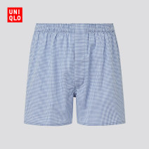 underpants male UNIQLO / UNIQLO 1 cotton middle-waisted Spring 2021 Cotton 100% Cotton 100% Same model in shopping mall (sold online and offline)