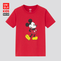 T-shirt 16 RED 69 Navy UNIQLO / UNIQLO 110/56 120/60 130/64 140/68 150/72 neutral summer cotton other Cotton 100% UQ436784000 Summer 2021 3 years old, 4 years old, 5 years old, 6 years old, 7 years old, 8 years old, 9 years old, 10 years old, 11 years old, 13 years old, 14 years old