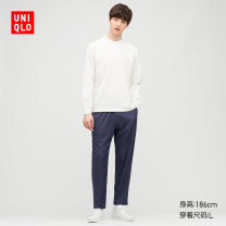 Pajamas / housewear UNIQLO / UNIQLO 09 black 69 Navy 160/85/XS 165/90/S 170/95/M 175/100/L 180/105/XL 185/110/XXL 185/115/XXXL 185/120/XXXXL male autumn Autumn 2020 Cotton 65% polyester 30% polyurethane elastic fiber (spandex) 5% Same model in shopping mall (sold online and offline)