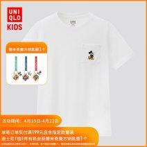 T-shirt UNIQLO / UNIQLO 110/56 120/60 130/64 140/68 150/72 neutral summer cotton other Cotton 100% 3 years old, 4 years old, 5 years old, 6 years old, 7 years old, 8 years old, 9 years old, 10 years old, 11 years old, 13 years old, 14 years old