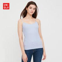 Sling / vest / T-shirt 150/80/XS 155/85/S 160/90/M 165/95/L 170/100/XL 175/105/XXL 180/110/XXXL 00 white 60 light blue 69 Navy female UNIQLO / UNIQLO UQ428789000 autumn Modal fiber (modal) 48% cotton 47% polyurethane elastic fiber (spandex) 5% Autumn 2020
