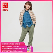 Home Pants / pajamas UNIQLO / UNIQLO Viscose (viscose) 100% spring and autumn 3 years old, 4 years old, 5 years old, 6 years old, 7 years old, 8 years old, 9 years old, 10 years old, 11 years old, 13 years old, 14 years old Autumn 2020