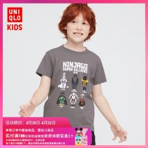 T-shirt 06 lead grey UNIQLO / UNIQLO 110/56 120/60 130/64 140/68 150/72 160/76 neutral summer cotton other Cotton 100% UQ436814000 Summer 2021 3 years old, 4 years old, 5 years old, 6 years old, 7 years old, 8 years old, 9 years old, 10 years old, 11 years old, 13 years old, 14 years old