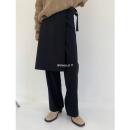 Casual pants Black, brown S,M,L Winter 2020 trousers Straight pants High waist commute routine 71% (inclusive) - 80% (inclusive) Korean version