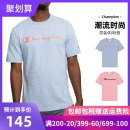T-shirt Fashion City (t5077 550037) 3h3 blue (t5077 550037) 8ar green (t5077 550037) jl0 red routine S M L XL XS XXL CHAMPION Short sleeve Crew neck standard daily summer T5077 550037 Cotton 100% youth routine tide Spring of 2019 Alphanumeric other cotton Brand logo Fashion brand