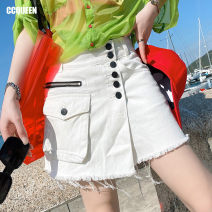 skirt Summer 2021 160/68A/S 165/72A/M 170/76A/L Jazz white Short skirt Natural waist A-line skirt 25-29 years old TBC04 More than 95% Ccqueen cotton Cotton 100%