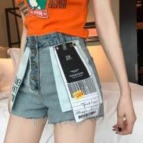 Jeans Summer of 2019 Denim shorts S,M,L shorts Other / other 51% (inclusive) - 70% (inclusive)