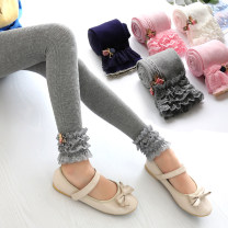 trousers MB.STROLL female 110 (recommended height 100-110), 120 (recommended height 110-120), 130 (recommended height 120-130) 34393 gray, 34393 black, 34479 gray, 34393 pink, 34393 Navy, 34393 white, 34479 black, 34479 pink, 34479 white spring and autumn trousers Korean version Leggings Leather belt