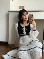Dress Summer 2020 Black and white S regular, m extended