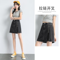skirt Summer 2021 S M L XL XXL 87324 gray 87324 blue Short skirt Versatile Natural waist A-line skirt Type A 18-24 years old QTL1-87324 81% (inclusive) - 90% (inclusive) future cotton Cotton 85% polyester 15% Pure e-commerce (online only)
