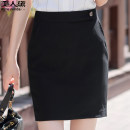 skirt Spring 2020 S M L XL 2XL 3XL 4XL Single black dress Short skirt commute low-waisted Solid color 18-24 years old 51% (inclusive) - 70% (inclusive) Beauty Dai polyester fiber Korean version Polyester fiber 63.7% viscose fiber (viscose fiber) 34.2% polyurethane elastic fiber (spandex) 2.1%