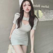 Dress Spring 2021 White, black, mint green S, M