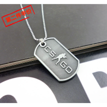 Around online games (physical) csgo Pendant / Pendant T Necklace t Keychain CT Necklace CT Keychain goods in stock The necklace is 70 cm long currency nothing