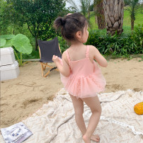 Bathing suit Other 100% Yangmeijia female Children's one piece swimsuit 21051011(XY) other Seven, eight, three, six, two, five, four, ten, nine Chinese Mainland Hangzhou Zhejiang Province Pink