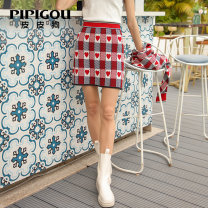 skirt Spring 2021 155/60A/S 160/64A/M 165/68A/L 100 white Short skirt commute High waist skirt Decor Type H 30-34 years old 81% (inclusive) - 90% (inclusive) Poodle silk Bright silk printing Retro Mulberry silk 86.5% others 13.5% Same model in shopping mall (sold online and offline)