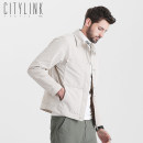 Jacket Youth fashion citylink tactic routine Self cultivation Other leisure autumn J9101 Polyester 100% Long sleeve Wear out Lapel Basic public youth short Single breasted Cloth hem Closing sleeve Non iron treatment Solid color More than two bags) Spring of 2019 Side seam pocket polyester fiber
