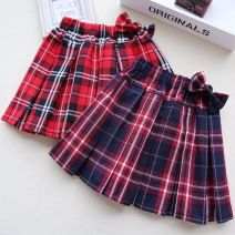 skirt The recommended height is 110cm for Size 110, 120cm for Size 120, 130cm for Size 130, 140cm for size 140, 150cm for size 150, 160cm for size 160, 170cm for size 170, 100, 90 Jujube red grid, big red grid, Scotland red grid, collection and purchase priority delivery Other / other female lattice