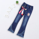 trousers ARTCONTE female 115cm 120cm 130cm 140cm 150cm 160cm spring and autumn trousers lady There are models in the real shooting Jeans Leather belt middle-waisted Denim Don't open the crotch Cotton 67.8% polyester 30.8% polyurethane elastic fiber (spandex) 1.4% KX63253 Class B Autumn 2020 Chengdu