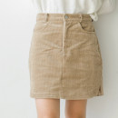 Casual pants S, M Autumn 2016 shorts Straight pants Natural waist Sweet Thin money 18-24 years old 96% and above corduroy Sticking cloth