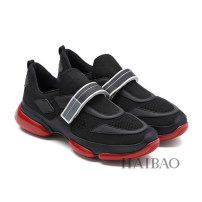 Low top shoes 38,39,40,41,42,43,44 ISAGA Multi material splicing Velcro Round head Sports and leisure shoes Sheepskin motion Sports & Leisure Color matching Thick bottom summer PVC ventilation Adhesive shoes Youth (18-40 years old) Leather stitching Middle heel (3-5cm) Sheepskin Grain skin