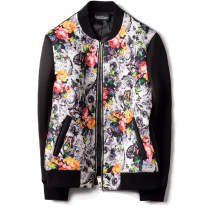 Jacket EximeTone Fashion City Ink color M routine Self cultivation Other leisure spring JK030 Polyester fiber 93.7% polyurethane elastic fiber (spandex) 6.3% Long sleeves Wear out Baseball collar like a breath of fresh air youth routine Zipper placket Rib hem No iron treatment Closing sleeve