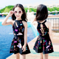 Children's swimsuit / pants Top thing Children's split swimsuit children's one piece swimsuit female polyester fiber top-37211 Autumn of 2019 no