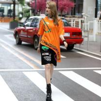Fashion suit Summer 2021 One size fits all Picture color O-BAI 6175-6165 orange 51% (inclusive) - 70% (inclusive) cotton