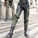 Casual pants Army green S,M,L,XL Spring 2021 Cropped Trousers Haren pants Natural waist street routine 51% (inclusive) - 70% (inclusive) O-BAI Cotton blended fabric pocket cotton