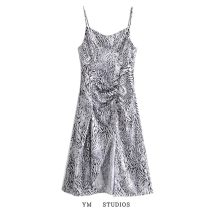 Dress Spring 2021 Decor XS,S,M,L Mid length dress singleton  Sleeveless street High waist Decor Socket other other camisole More than 95% other other Europe and America