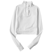 T-shirt S,M,L Spring 2020 Long sleeves High collar Self cultivation have cash less than that is registered in the accounts street cotton 96% and above Europe and America