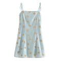 Dress Spring 2020 S,M,L Short skirt singleton  Sleeveless street High waist Socket camisole Sequins Europe and America