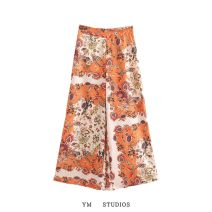 Casual pants Picture color [3172] S,M,L Autumn 2020 trousers Wide leg pants High waist street routine Europe and America