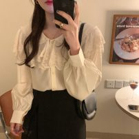 Fashion suit Spring 2021 Average size White shirt, black shirt, skirt s, Skirt M 18-25 years old 71% (inclusive) - 80% (inclusive)