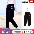 trousers Mishibe female 140cm 150cm 160cm 170cm 175cm summer trousers Korean version There are models in the real shooting Sports pants Leather belt middle-waisted other Don't open the crotch Other 100% Class B Summer 2021