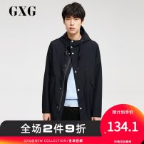 Windbreaker Navy Blue GXG Youth fashion 165/S 170/M 175/L 180/XL 185/XXL 190/XXXL Front and middle zip placket have more cash than can be accounted for standard Other leisure spring youth other Other 100% Spring of 2018 Same model in shopping mall (sold online and offline)
