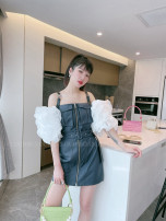 Dress Summer 2021 Color matching 36,38,40,0 yuan to join! Enjoy 95% discount and exchange rights! , official authorized stores, drop down to have more beautiful pictures!