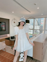 Dress Summer 2021 white 36,38,40,0 yuan to join! Enjoy 95% discount and exchange rights! , official authorized stores, drop down to have more beautiful pictures!