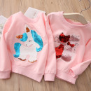 Plain coat Shell element female 100cm,110cm,120cm,130cm,140cm,150cm Pink Unicorn, pink cat spring and autumn Socket No model nothing other other wta193 Other 100% Class B
